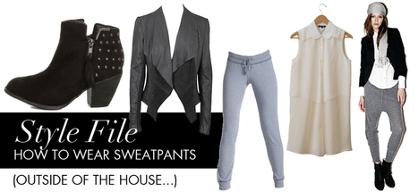 How to Stylishly Wear Sweatpants | FASHIONmeGREEN | Chic Sustainable Fashion | Scoop.it