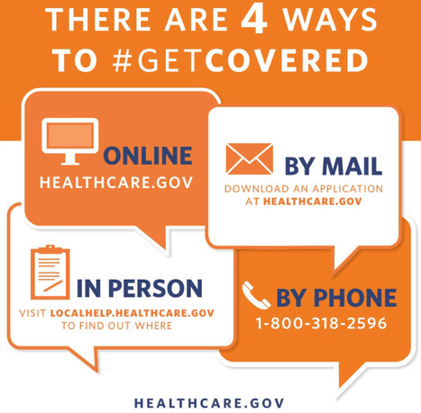 """Get Covered: 4 Ways to Sign Up for Health Care"" 