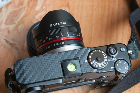 A short review: Samyang 8mm X mount for X-pro1 | Member DemonicAngelz at ClubSnap | Fuji X-Pro1 | Scoop.it