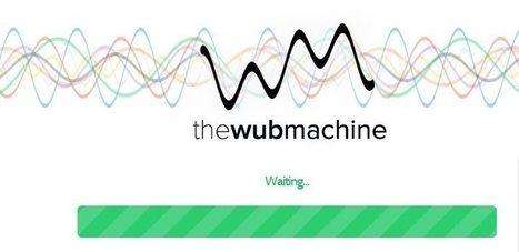 """The wub machine, una aplicación para transformar canciones """"en otra cosa""""   Linguagem Virtual   Scoop.it"""