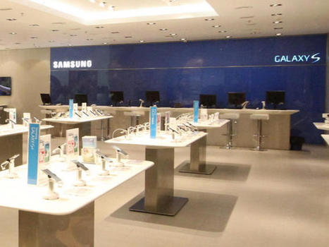 Samsung-branded stores open in time for Galaxy S5 - CNET | A2 BUSS4 Businesses and the competitive environment & making strategic decisions | Scoop.it