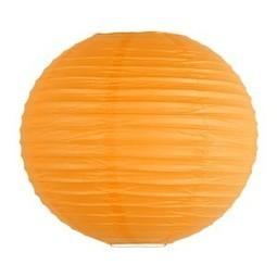 Lanterne chinoise - 35cm - Mango sorbet - Sous Le Lampion   boules japonaises   Scoop.it