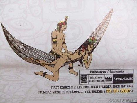 El Mayasutra: Poses sexuales mayas en una hamaca (Imágenes)   Sexualidad   Scoop.it