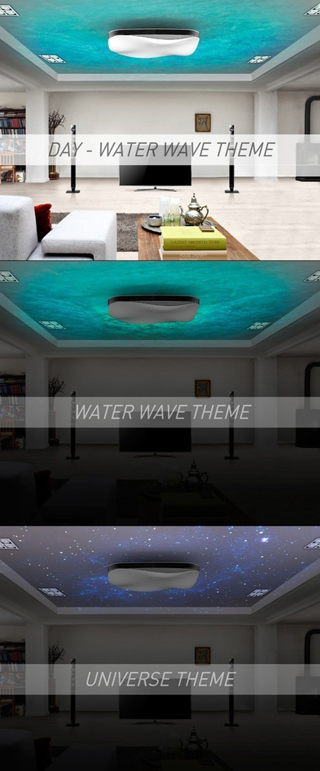 Water Wave Air Conditioner – Auditory, Light & Tactile Senses | What Surrounds You | Scoop.it