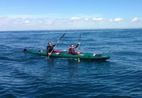 La traversée en kayak de la Manche, racontée par Tatiana, 12 ans   1jour1actu   Scoop.it