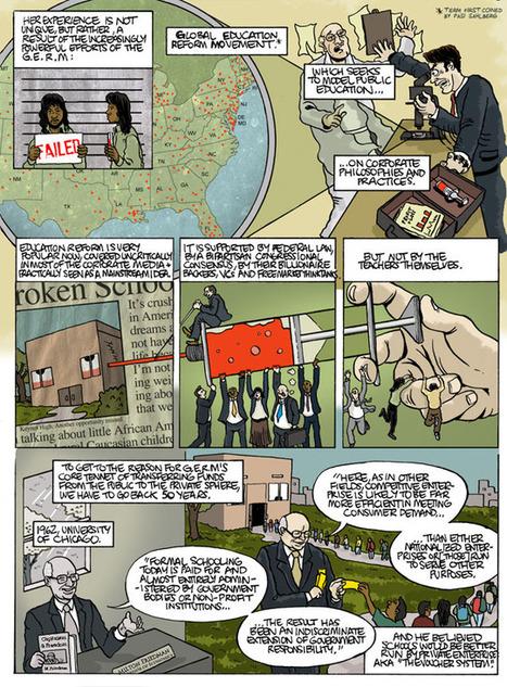 The Disaster Capitalism Curriculum: The High Price of Education Reform (Episode I) | omnia mea mecum fero | Scoop.it