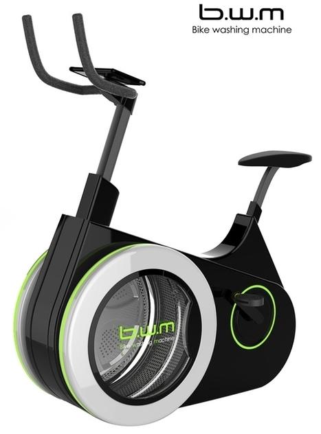 Bike Washing Machine : pédaler tout en fournissant de l'énergie pour laver votre linge | Mangez des News | Scoop.it