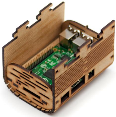 Une boîte en bois pour votre Raspberry Pi   Framboise 314, le Raspberry Pi à la sauce française….   Hightech, domotique, robotique et objets connectés sur le Net   Scoop.it