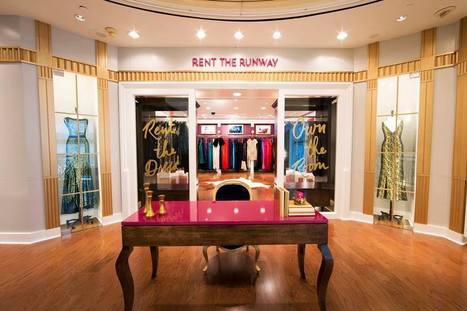 L'ex pure-player Rent the Runway mixe les expériences online et offline avec ce showroom dans le flagship Henri Bendel. | La Minute Retail | magasin physique et connections numériques | Scoop.it
