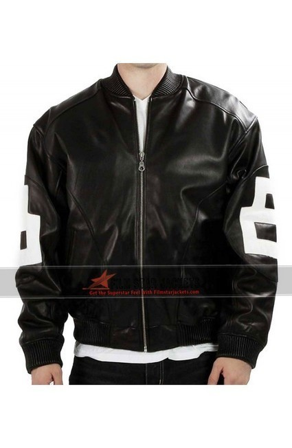 Mens 8 Ball Bomber Leather Jacket | Film Star Jackets | Scoop.it