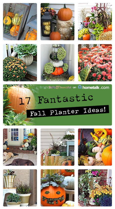 17 Fantastic Fall Planters | Bright Bold and Beautiful | Garden Ideas by Team Pendley | Scoop.it