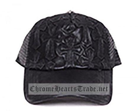 Black Leather Chrome Hearts Cross Mesh Hip Hop Cap [CH#20140114] - $138.00 : Chrome Hearts Trade | Buy Chrome Hearts Online Shop | Headphones Sale Online Cheap Beats By Dre | Scoop.it