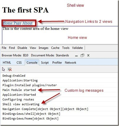 Hands On Lab: Building a Multiple View Single Page Application (SPA) | JavaScript for Line of Business Applications | Scoop.it