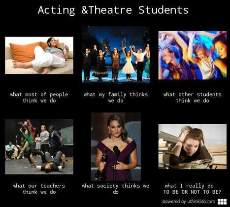 Acting & Theatre Students | What I really do | Scoop.it