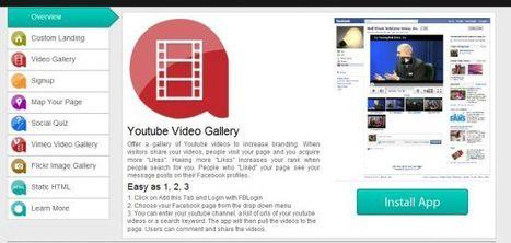 Créer gratuitement des applications pour Facebook : AppAddictive - Blog du modérateur | Facebook pour les entreprises | Scoop.it