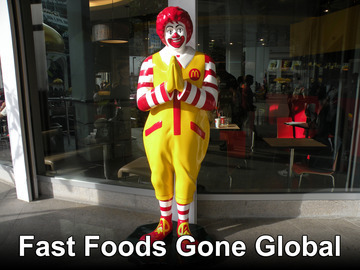Fast Foods Gone Global | Voice Over Know-How | Scoop.it