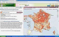 Nouveau sur Agreste : les cartes interactives sur le recensement ... | L'œil de Dijon Céréales | Scoop.it