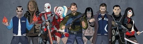 Suicide Squad - Pour se familiariser avec tous les héros avant d'aller voir le film | Superheroes & Supervillains | Scoop.it
