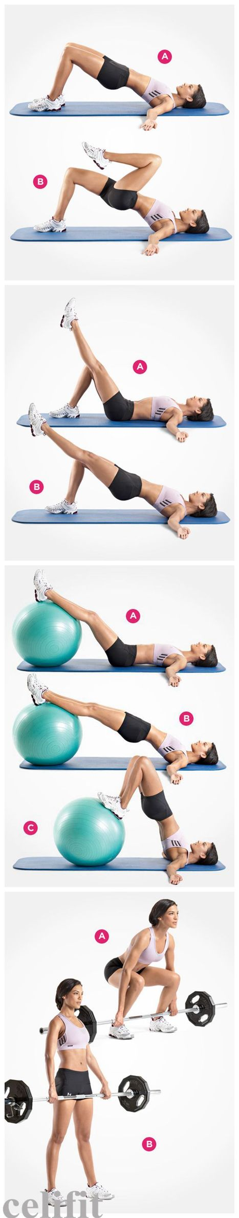 4 Butt Exercises For You To Have A Super-Toned Tush / Healthy Weight Loss Tips   Healthy weight loss   Scoop.it
