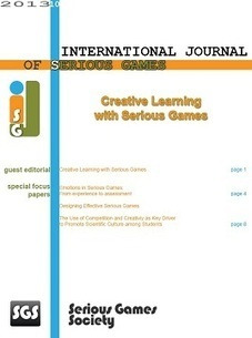 International Journal of Serious Games | Better design, better learning. Élaborer mieux, apprendre mieux. | Scoop.it