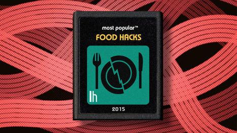 Most Popular Food Hacks of 2015   Bazaar   Scoop.it