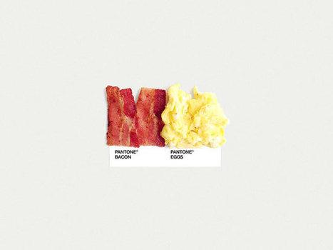 Pantone food pairings | David Airey, graphic designer | tips | Scoop.it