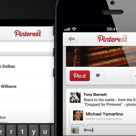Pinterest Adds Mentions, Notifications to Mobile | Social Media What's New | Scoop.it