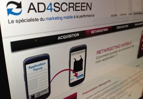 Reciblage mobile : Ad4Screen annonce un triplement des taux de clic   L'ePublicité   Scoop.it