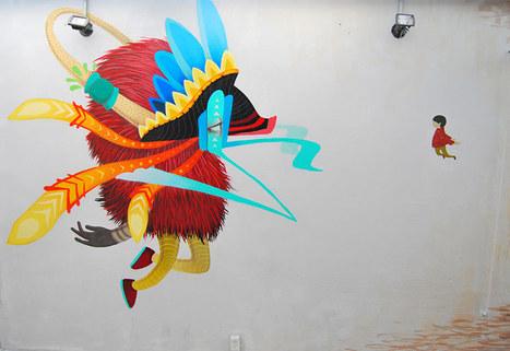 Mexican Artist Curiot | art move | Scoop.it