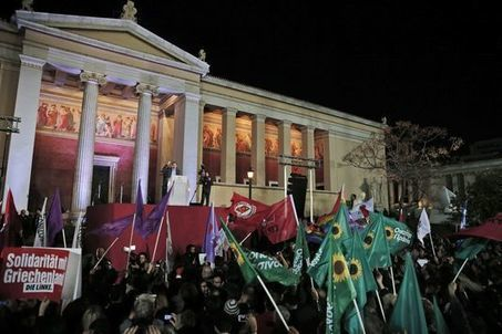 Qui sont les possibles soutiens de Syriza pour une coalition ?   Blanc grec   Scoop.it
