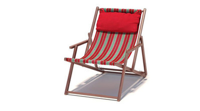 Chaise transat 3D | 3D Library | Scoop.it