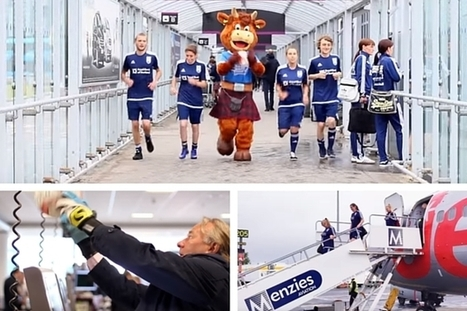 Scotland's Street Soccer team take on Edinburgh Airport | edinburgh | Scoop.it