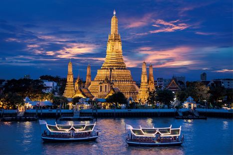 Cheap Airline Tickets to Bangkok BKK Thailand - H&S Travel | plan well for the tour | Scoop.it