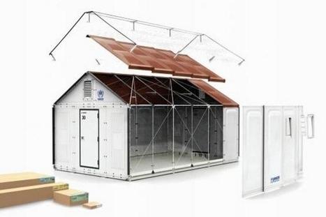 Better Shelter : des abris en kit pour les réfugiés | Immobilier | Scoop.it