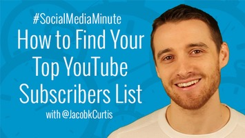 How to Find Your Top YouTube Subscribers List | YouTube Tips and Tutorials | Scoop.it