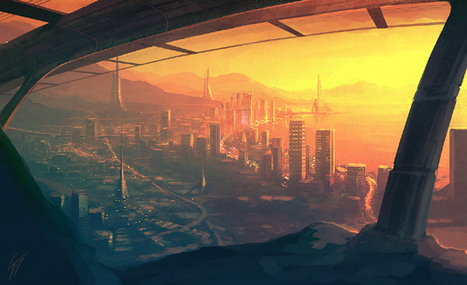 Future City Concept Art Collection | Social Media News and Web Tips – 24hblogdesign.com | Fine Art and Illustration | Scoop.it