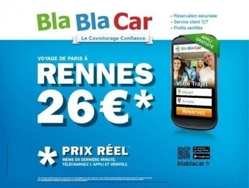 La notoriété de BlaBlaCar grimpe en flèche ! | Veille Innovation (archives) | Scoop.it