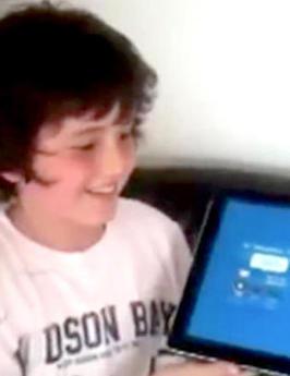 Cameron (11) sier hva som helst perfekt - baklengs | Skolerelaterte artikler | Scoop.it