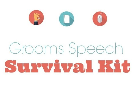 Grooms Speech: Survival Kit | Parenting | Scoop.it