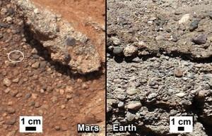 Curiosity encuentra rocas formadas a partir de corrientes de agua   CAU   Scoop.it