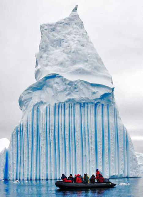 Glaciares e Icebergs: Reportaje Fotográfico [Glaciers and icebergs: Photo GAllery] ~ La Historia con Mapas | Geografía | Scoop.it