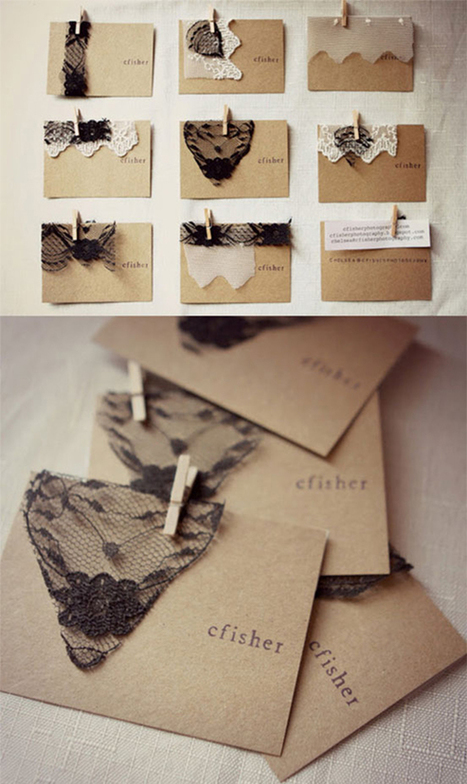 20 Outstanding Business Card Ideas for Your Inspiration | Dan's Homepage Hints | Scoop.it