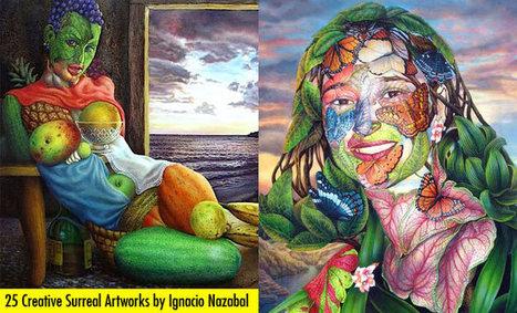 25 Creative Surreal Artworks by Cuban Artist Ignacio Nazabal | Visual Loop Inspiration | Scoop.it