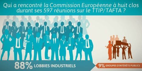 TAFTA : 88% des négociations avec le lobby industriel | SandyPims | Scoop.it