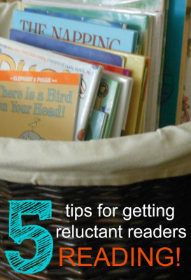 5 tips for getting reluctant readers reading | random reader | Scoop.it