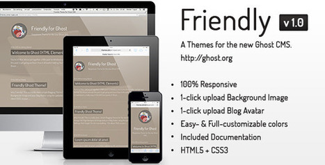 Friendly Responsive Theme for the new Ghost CMS - Wordpress Themes | Themes4Free | Scoop.it