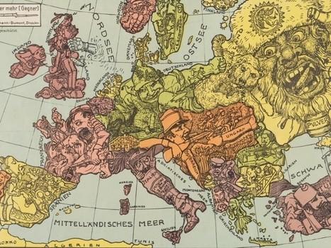 Six cartes et visuels étonnants découverts cette semaine - Rue89 | Cartographie culturelle | Scoop.it