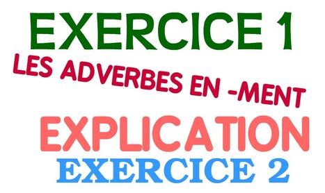 ADVERBES DE MANIÈRE (-MENT)-REPASO | On commence ici... | Scoop.it