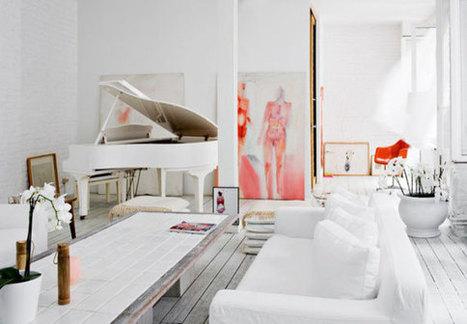 Winter Inspiration: 30 White and Elegant Interior Designs | Residential Architecture and Interior Design | Scoop.it