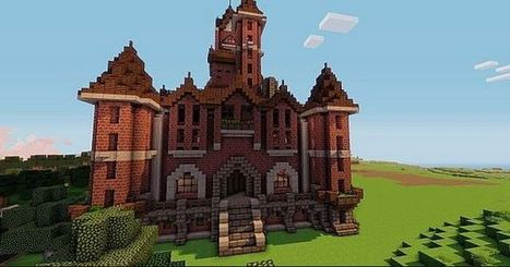 Victorian Mansion Map for Minecraft 1.5.1/1.5.2 | Free Download Minecraft | Scoop.it